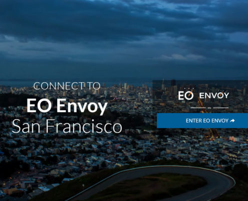Young Marketing Consulting: Web Design Work for EO Envoy